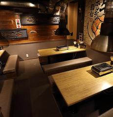 席の移動も楽にできる掘りごたつ式。声も通りやすいため、幹事様も安心です。名古屋駅周辺で、プライベートなご宴会をお考えの幹事様、是非当店をご利用ください。