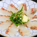 料理メニュー写真鯛のわら焼き