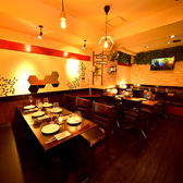 肉バル酒場 ラッキールウ 赤坂見附本店の雰囲気3