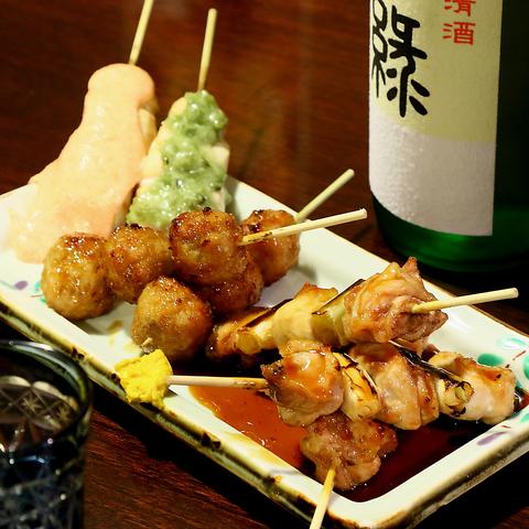串焼き・おつまみ・お弁当のテイクアウト・デリバリーはじめました!