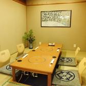 接待や宴会などに最適な個室。特別な時間をお過ごしください。
