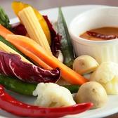 人気!彩り野菜のバーニャ韓ウダ♪♪