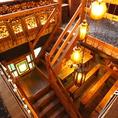 【4F】貸切りスペースへの階段です♪