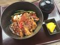料理メニュー写真「千屋(ちや)牛肉ビーフデミカツ丼」☆シェフオリジナルデミカツ丼