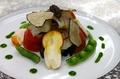 料理メニュー写真鱧とサマー・トリュフと旬の野菜のオードブル