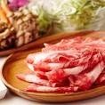 【牛肉コース】大人2280円(税抜) 牛バラ、豚ロース、豚バラ、国産鶏胸肉が90分食べ放題♪