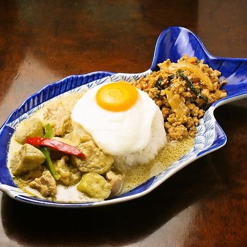 数多くの入賞歴を持つ料理長がおくる、本格タイ料理をリゾート空間で