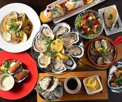 grill seafood グリルシーフードの写真