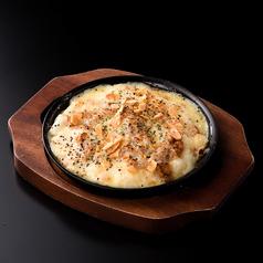 鶏そぼろのポテトチーズ焼き