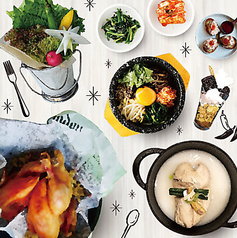 KOREAN BISTRO&CAFE NYAM2の特集写真