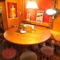 【3F】手作り感のある木のテーブルがポイント☆