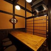 2階のテーブル席。8名掛けテーブル席を3卓ご用意。仕切りもございます。