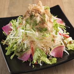 料理メニュー写真大根と水菜のサラダ