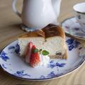 料理メニュー写真スフレチーズケーキ
