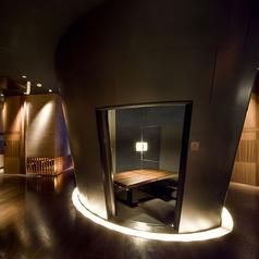 【2名様個室】おこもり感たっぷりの個室。デートに人気のお席です