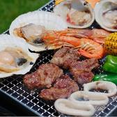 ホテルグランヴィア広島 ビアガーデン 北海道BBQ&ハイボールガーデンの雰囲気2