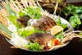 料理メニュー写真SABA島名物メガとろさばの藁焼き