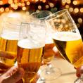 【ドリンク内容充実】水戸駅より徒歩1分お料理に合わせたお酒を種類豊富にご用意しております♪生ビール、地酒、カクテル、梅酒、ワイン、銘柄焼酎、日本酒、ハイボール、サワー、オリジナルドリンクなど…♪さらにお酒好きのお客様には、飲み放題プランも♪当店ではお時間に合わせて飲み放題プランをご用意♪♪