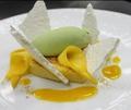 料理メニュー写真マンゴーのデザート