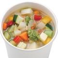 料理メニュー写真10種類ベジタブルコンソメスープ