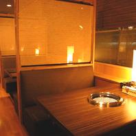 個室感覚の和空間