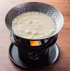 料理メニュー写真プレーンチーズフォンデュ