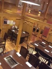 テーブル席でも広々20名様がゆったり出来る宴会スペース!
