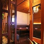 防音設備も完璧!!扉もついたカラオケ付の完全個室はあらゆるシーンにピッタリです