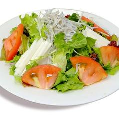 料理メニュー写真長芋としらすサラダ