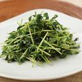料理メニュー写真青菜のあっさり炒め