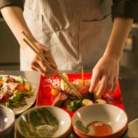 旬の野菜や京都姫牛、京タパスとワインのマリアージュ