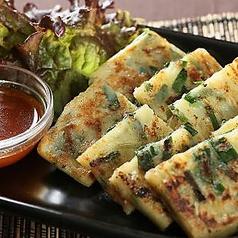 料理メニュー写真韓国チヂミ