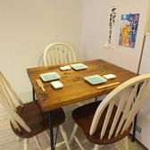 3名様用テーブル席。ラーメンランチ・ご宴会・女子会・京王八王子