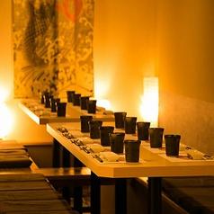 ◆女子会や合コンにも最適な少人数様向け個室席は程よい広さで快適にお過ごしいただけるお席となっております。特別な日のご利用に絶品料理やお酒にて精一杯おもてなしさせていただきます!※お写真はイメージとなります。