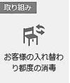 【新型コロナ感染症対策】お席の入れ替わり都度の消毒