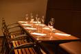 個室席→8~12名様用個室席です。合コンやプチ宴会にご利用ください。