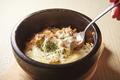 料理メニュー写真石鍋チキンドリア/ローストビーフ丼