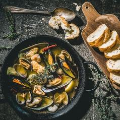 5種魚介のアヒージョ マリスコ