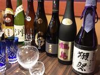 十四代、魔王、村尾、黒佐藤など銘酒も揃ってます。