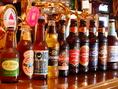 英国ビールを中心とした、珍しいビールが勢揃い、英国パブの雰囲気のビアバーです!