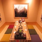 掘り炬燵個室はオシノビの宴会に最適です♪