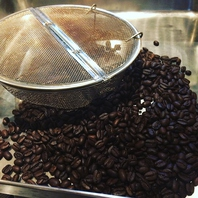 コーヒー自家焙煎しております