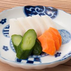 料理メニュー写真おしんこ(ぬかづけ)