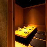 【完全個室3~6名様】ゆったりとしたスペースなので、時間を忘れておいしい料理とお酒を愉しめます。大事な接待や合コンにぴったりのお部屋です。