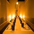 ◆個室居酒屋をお探しなら是非当店へお越しください!少人数様から団体様まで幅広くご案内いたします◎当店自慢の絶品料理がご堪能いただける宴会に最適なコースも多数ご提供しております!※お写真はイメージとなります。