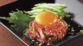 料理メニュー写真【新基準適合生食用食肉】国産牛ユッケ