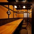 2階のテーブル席は18名様まで利用可能◎歓送迎会や、接待、その他各種宴会にどうぞ◎※12名様以上の場合、テーブルが異なる場合がございます。※18名様以上をご希望の場合はご相談ください。