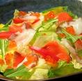 ■えん人気メニュー えん海鮮サラダ