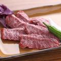 料理メニュー写真とびきり牛はらみ