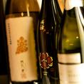 きき酒師が全てのお客様の『美味しい』の為に厳選銘酒を随時入荷!